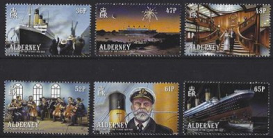 Titanic Stamps, Alderney, 2012 | Hobby Keeper Articles