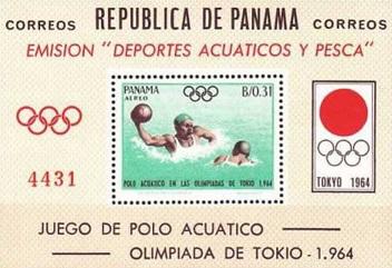 "Post block "" Water Polo. Tokyo, 1964"", Republic Of Panama| Hobby Keeper Articles"