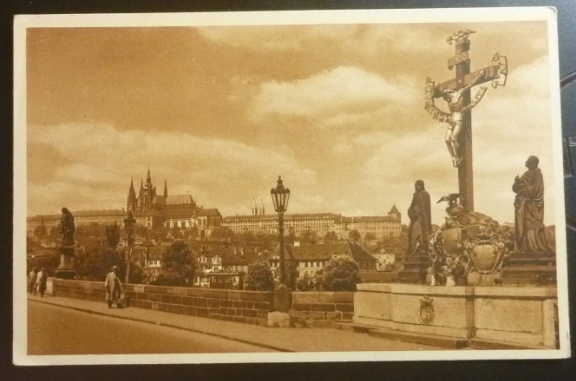 Postcard with the image of Prague | Hobby Keeper Articles