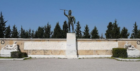 Monument of Tsar Leonid, Thermopylae | Hobby Keeper Articles