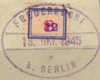 Postage stamp in Fredersdorf | Hobby Keeper Articles