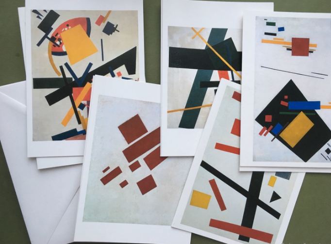 Set of postcards with the paintings of Malevich | Hobby Keeper Articles