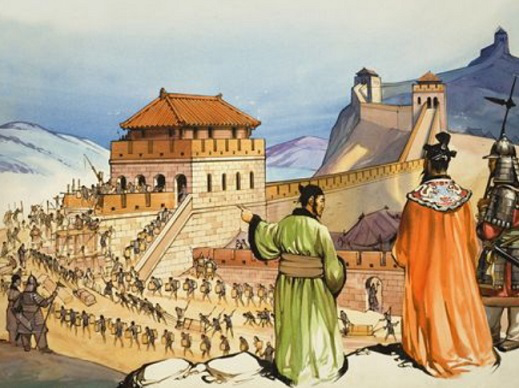 The construction of the great wall of China | Hobby Keeper Articles