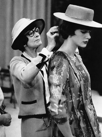 Coco Chanel with a model | Hobby Keeper Articles