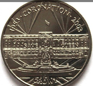 1 crown coin on the reverse of the Palace of Westminster, 2003, Gibraltar   Hobby Keeper Articles