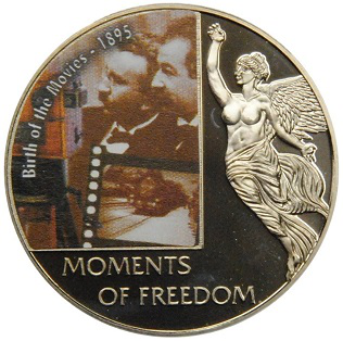 $ 10 coin, Lumiere brothers on reverse, 2006, Liberia | Hobby Keeper Articles