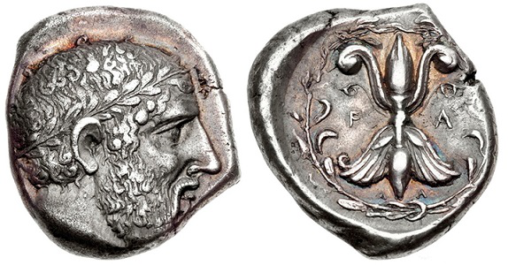 Silver stater with the image of Zeus | Hobby Keeper Articles