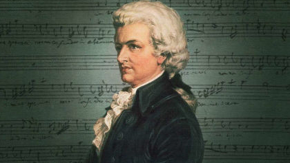 Portrait Of Mozart | Hobby Keeper Articles