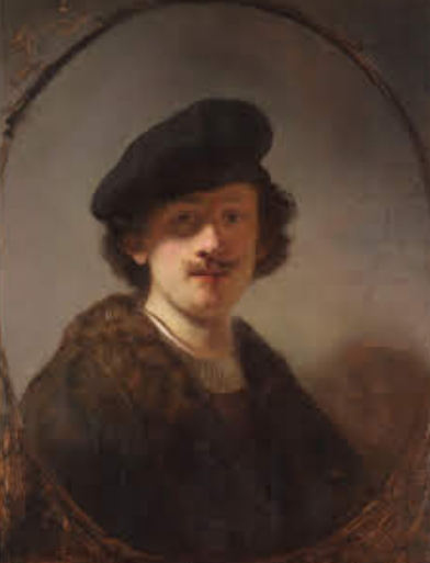 Rembrandt self portrait with shaded eyes   Hobby Keeper Articles