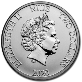 $ 2 coin, 2020, Niue | Hobby Keeper Articles