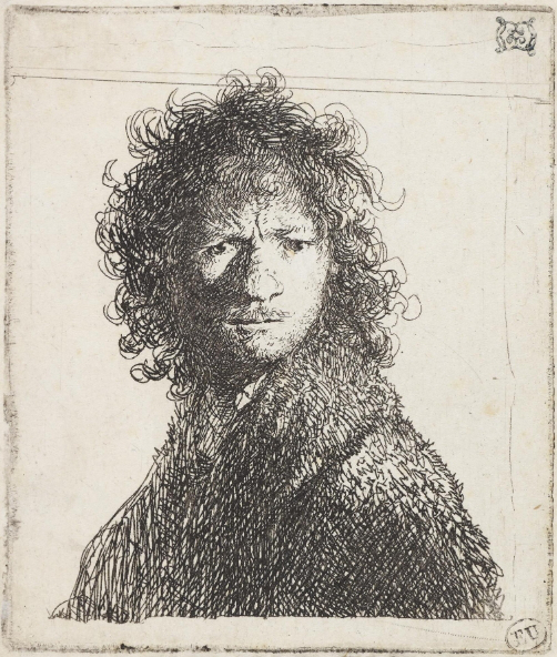 Self portrait Rembrandt gloomy   Hobby Keeper Articles