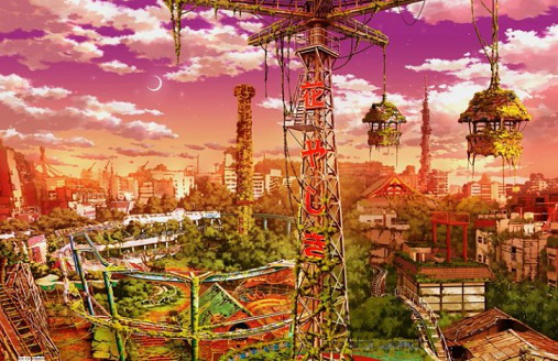 "Painting by Japanese artist ""Asakusa Hana Yashiki"" | Hobby Keeper Articles"