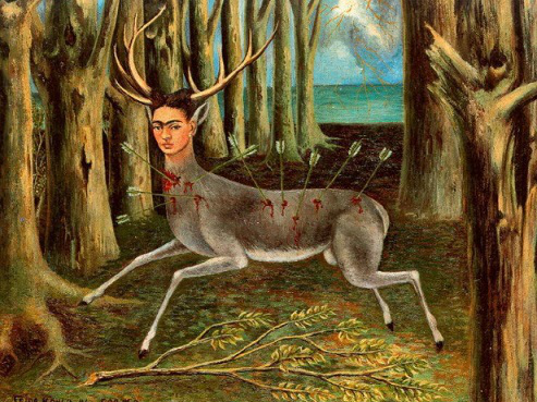 """The painting """"the Little deer"""", 1946, Frida Kahlo 
