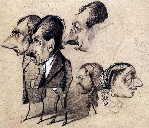 Monet Caricatures | Hobby Keeper Articles