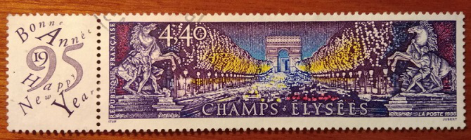 "Mailing list ""Les Champs-Élysées"", 1995, France   Hobby Keeper Articles"