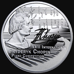 The silver coin of Poland with Chopin | Hobby Keeper Articles