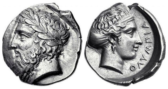 Silver stater with the image of Olympia | Hobby Keeper Articles