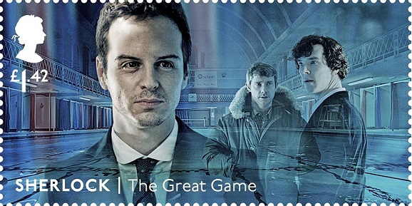 Stamp from the Sherlock Holmes series, 1.42 L, United Kingdom | Hobby Keeper Articles