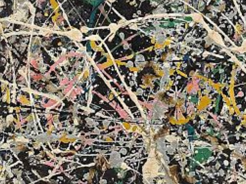 """Number 1. 1949"", oil on canvas. Jackson Pollock, 1949 / Hobby Keeper Articles"