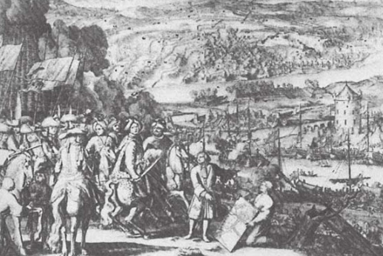 Engraving Of The Capture Of Azov | Hobby Keeper Articles