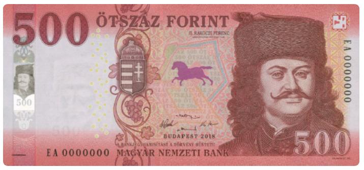 500 HUF banknote, Hungary, 1946 | Hobby Keeper Articles