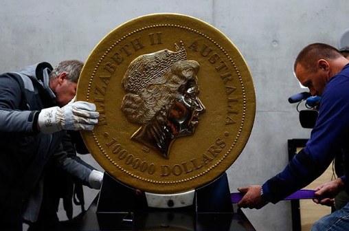 """100 kg pure gold coin """"Queen Elizabeth II"""", Canada 