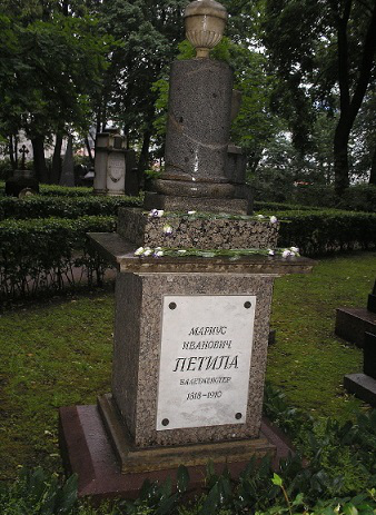 Grave of M. I. Petipa in St. Petersburg | Hobby Keeper Articles