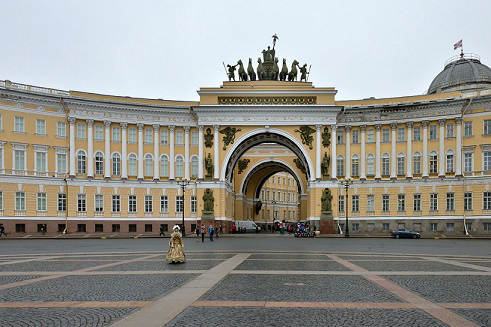 Winter Palace and Palace square, Saint Petersburg | Hobby Keeper Articles