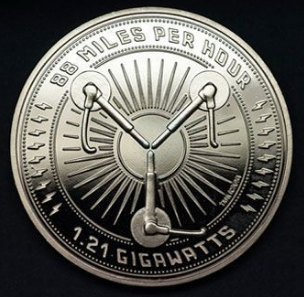 Coin 25th anniversary clock tower (silver-plated) by Iron Gut Publishing | Hobby Keeper Articles