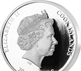 Easter silver coin $ 20, 2020, cook Islands   Hobby Keeper Articles