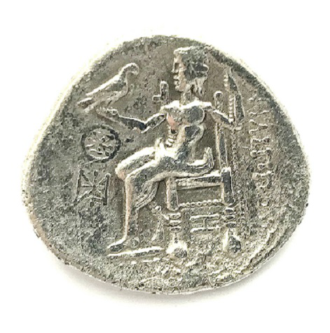 The coin is a Tetradrachm, Phoenicia, 323-317 BC | Hobby Keepeer Articles