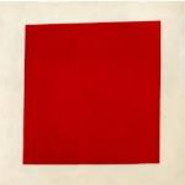 """The picture of Malevich's """"Red Quartet"""" 