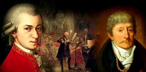 The picture of Mozart and Salieri | Hobby Keeper Articles