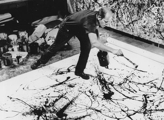 Jackson Pollock at Work   Hobby Keeper Articles