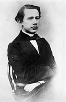 The image of a young Tchaikovsky | Hobby Keeper Articles