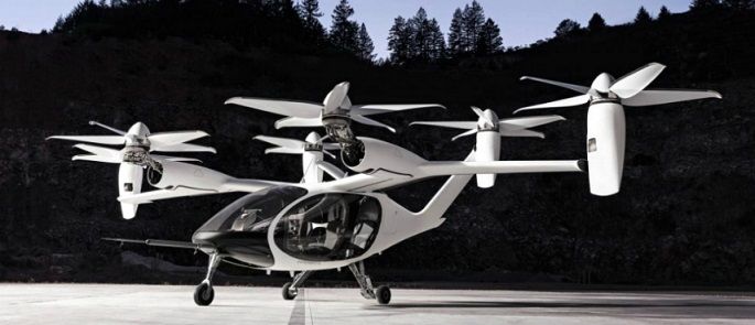 Photo of a Japanese flying taxi | Hobby Keeper Articles