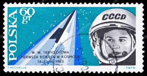 Stamp with the image Tereshkova | Hobby Keeper Articles