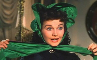 """Shot from the movie """"gone with the wind"""" 