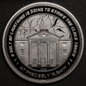 Coin for the 25th anniversary of the film (silver-plated), collector's edition | Hobby Keeper Articles