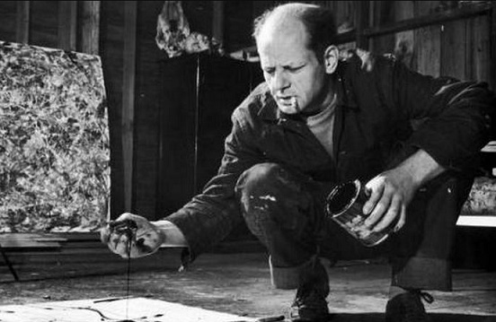 D. Pollock in the process of creating a picture | Hobby Keeper Articles