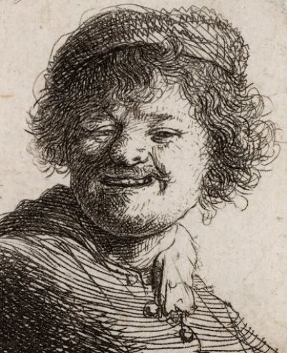 Image Rembrandt laughing   Hobby Keeper Articles