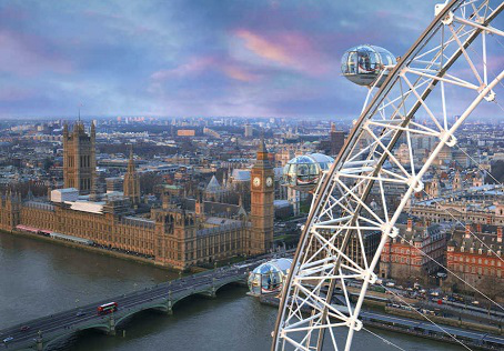The London eye - the Ferris wheel   Hobby Keeper Articles