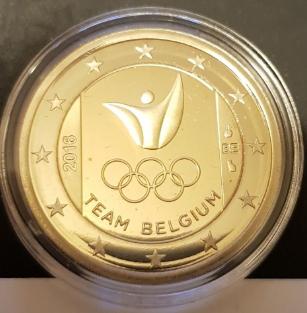 Commemorative coin 2 euros, 2016, Belgium | Hobby Keeper Articles