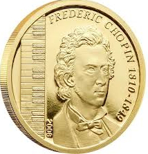 "Coin ""Chopin"" Poland 