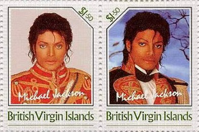 Stamps with the image of Michael Jackson, 1-50$ | Hobby Keeper Articles